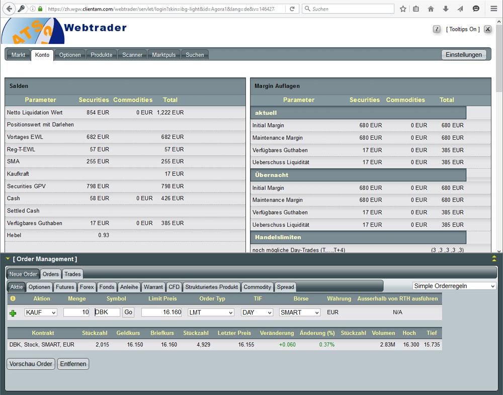 Kostenfreie Handelssoftware für zu Hause oder unterwegs - AGORA direct Ltd.
